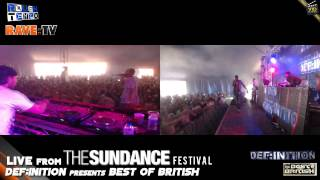 DJ INTER feat MC FEARLESS - DEF:INITION ARENA @ SUNDANCE RAVE FESTIVAL 2013