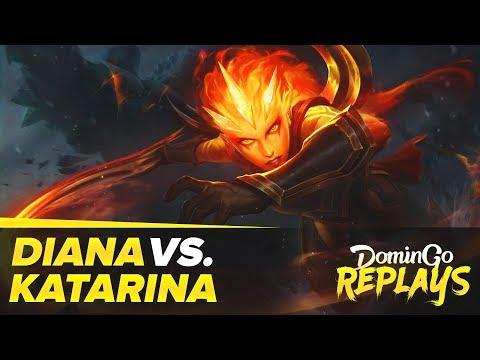 Diana contre Katarina!
