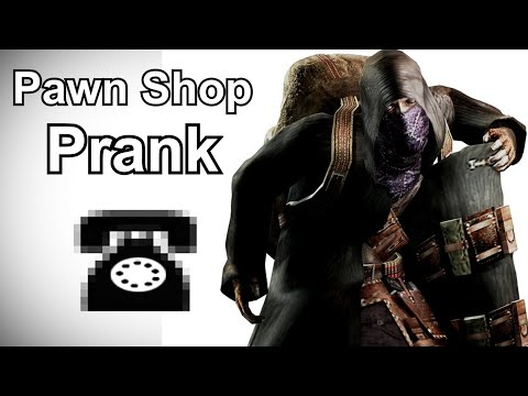 The Merchant Calls Pawn Shops - Resident Evil Prank Call