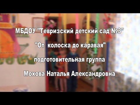 """НОД в подготовительной группе ДОУ """"От колоска до каравая"""". Мохова Наталья Александровна"""