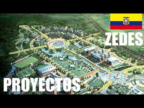 ZEDE's, Proyectos y Planes de Ordenamiento Ecuador