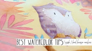 Best Watercolor Tips I Wish I Had Known Two Decades Ago