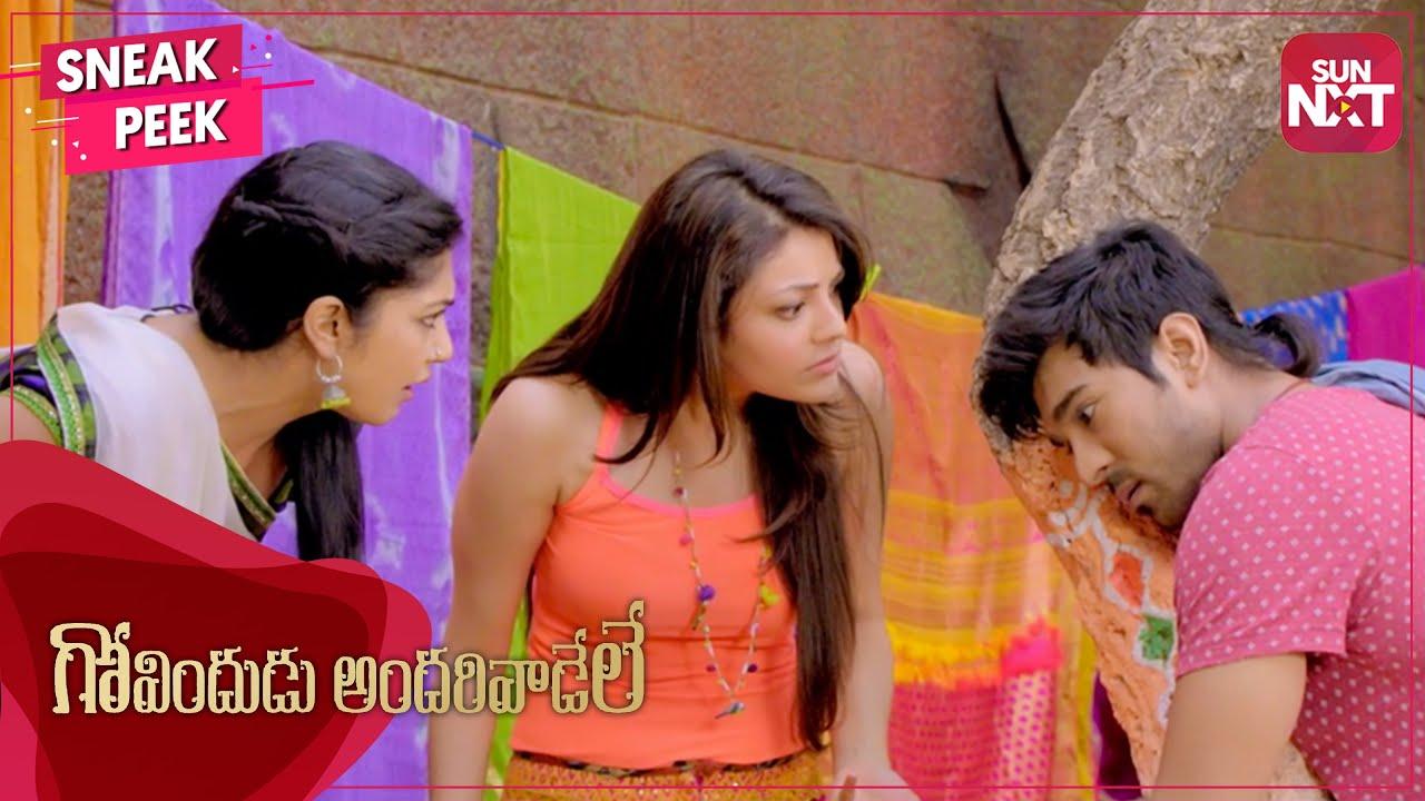 Download Will Ram Charan unite his family?   Govindudu Andarivadele   Kajal Aggarwal   Srikanth   SUN NXT