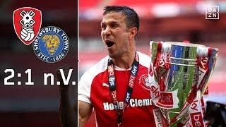 Rotherham zurück in der Championship: Rotherham - Shrewsbury 2:1 n.V. | League One Playoffs | DAZN