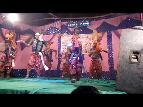 MAHULA JHARE DANCE , DHAMA