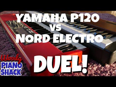 Digital Piano Duel - Yamaha P120 vs Nord Electro 2