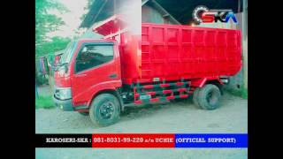 Harga dump truck karoseri ska 081-8031-99-220