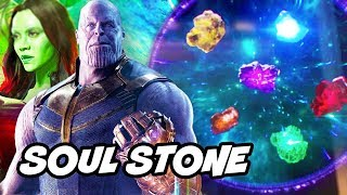 Avengers Infinity War Thanos and Soul Stone Scene Explained