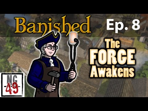 Banished Colonial Charter - Episode 8 - Welcome Back & More Growth