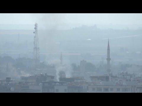 استمرار القصف وإطلاق النار في رأس العين شمال سوريا بعد ساعات من اتفاق الهدنة الأمريكي التركي…  - نشر قبل 43 دقيقة