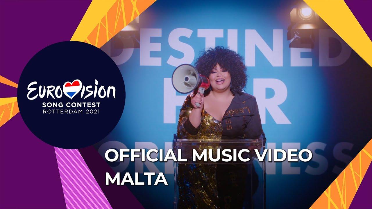Destiny - Je Me Casse - Malta ?? - Official Music Video - Eurovision 2021