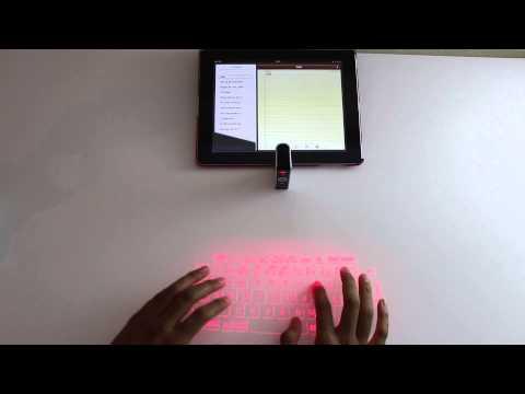 Laser Tastatur im Test