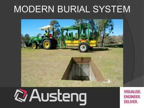 MODERN BURIAL SYSTEM