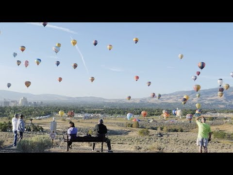 The Great Reno Balloon Race 2018