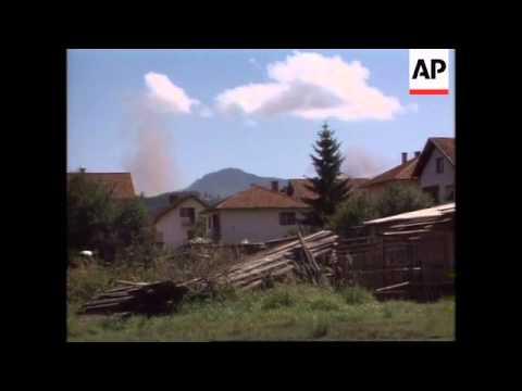 Bosnia - NATO's Air Strikes Stepped Up
