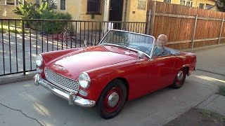 My Dad's Surprise Car Austin Healey Sprite