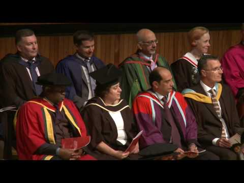 LSBU School of The Built Environment and Architecture Graduation Ceremony 2016