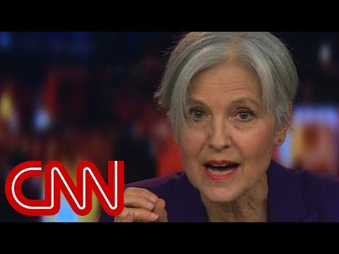 Jill Stein reacts to potential third-party candidate