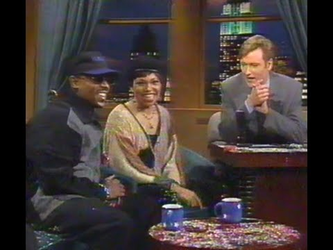 Martin Lawrence and tisha Campbell Martin on Conan (1994)