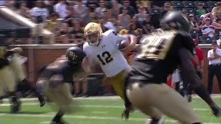 Notre Dame QB Ian Book Highlights vs. Wake Forest