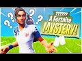 This is a Fortnite MYSTERY! - PS4 Pro Fortnite SOLO!