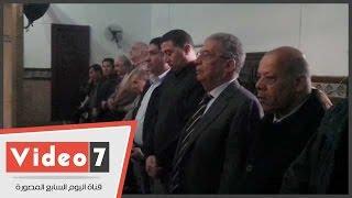 عمرو موسى يشارك فى تشييع جثمان الشاعر سيد حجاب