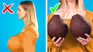 Crazy Ways to Sneak Food into a Fashion Show! 12 Clever DIY Ideas & Funny Situations by Crafty Panda
