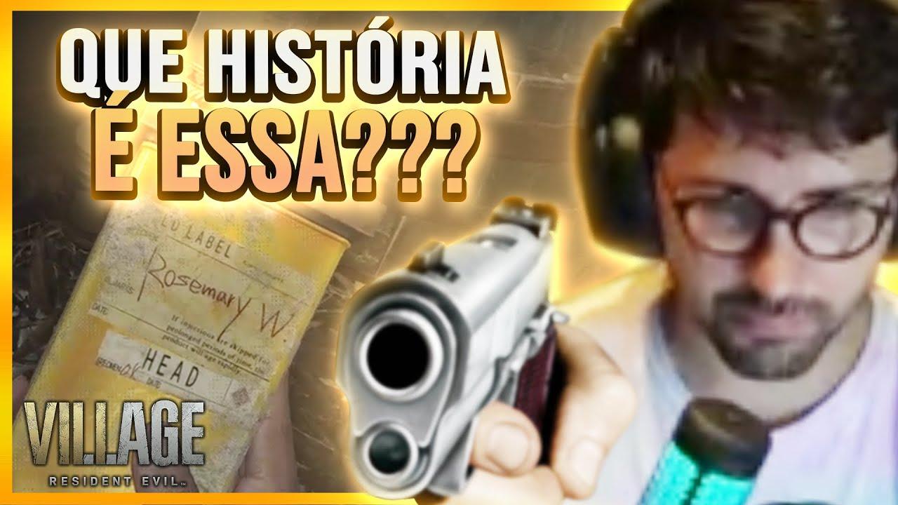 QUE HISTÓRIA É ESSA?! 😡  Resident Evil Village - Samira Close