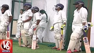 HCA Conducts Open Selections For Women Cricketers | Hyderabad | V6 News