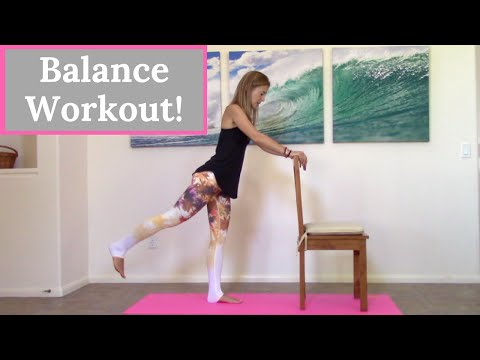Balance Exercises - 10 Minute Home Workout To Improve Balance