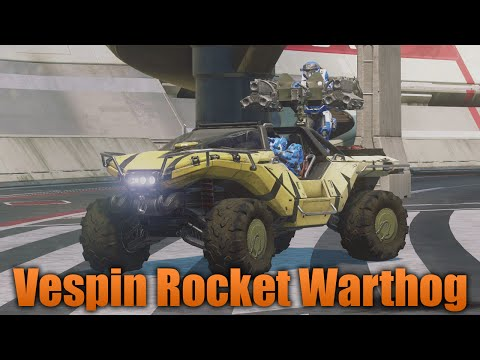 Halo 5: Guardians - Vespin Rocket Warthog - Legendary Vehicle Showcase