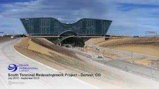 Denver International Airport Construction Time-Lapse