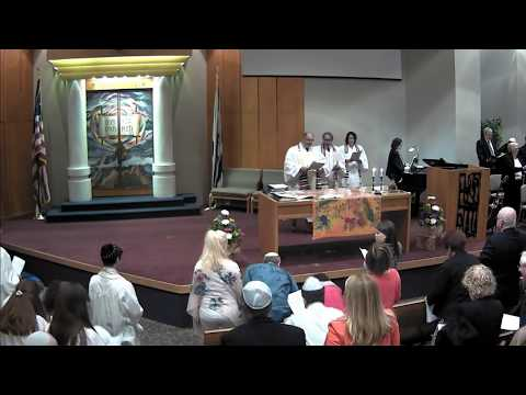Shavuot 5777 at Congregation Beth Chaim in Princeton Junction, New Jersey