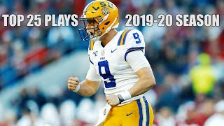 Top 25 Plays of the 2019 College Football Season