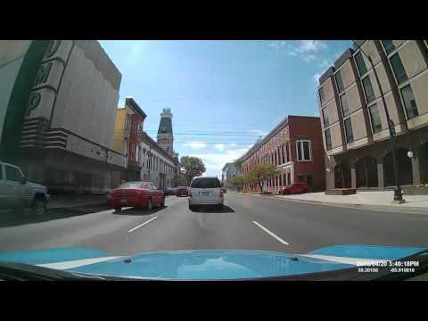 Cobra Drive HD Full HD Dash Cam Demo