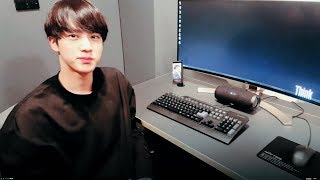 JIN GOES ON TWITTER AND ENCOUNTERS FANFICTION