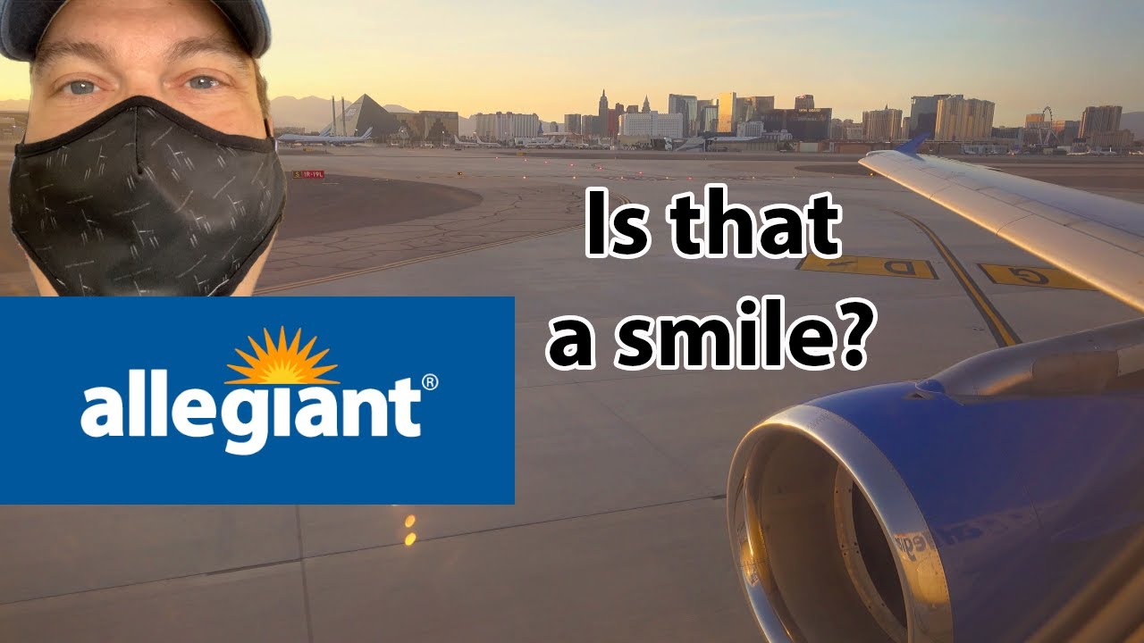 Download What's it like flying Allegiant like during Covid? Home from Las Vegas