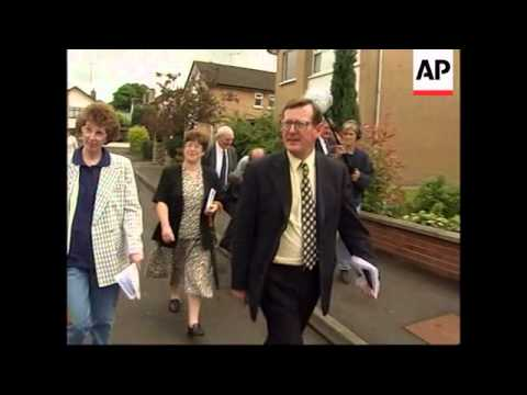 N. IRELAND: ULSTER UNIONIST PARTY LEADER DAVID TRIMBLE PROFILE