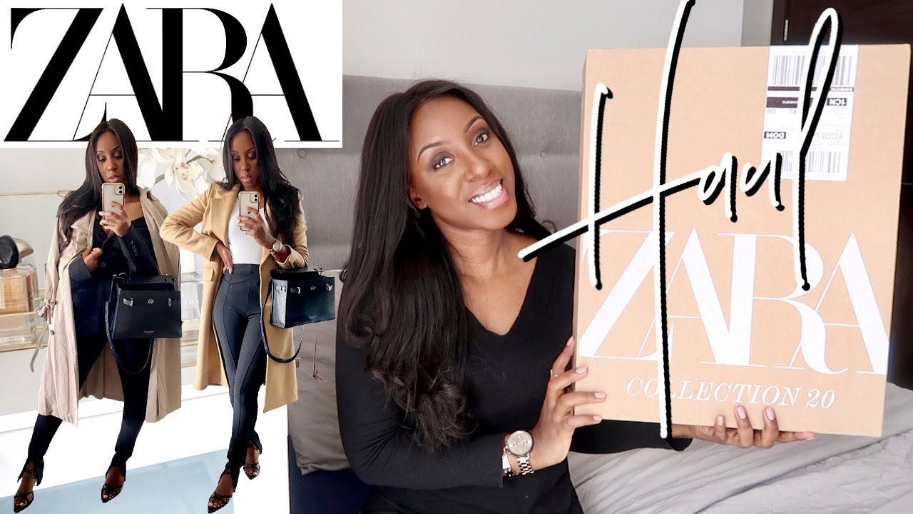 HUGE ZARA TRY ON HAUL | H&M & ZARA NEW IN | HOW TO DRESS EFFORTLESSLY CHIC | @NodreenK