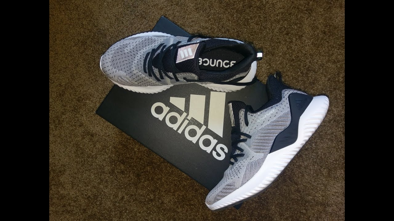 best authentic 02303 d98ac Adidas Alphabounce Beyond Running Shoes DB1126 Unboxing  On Feet