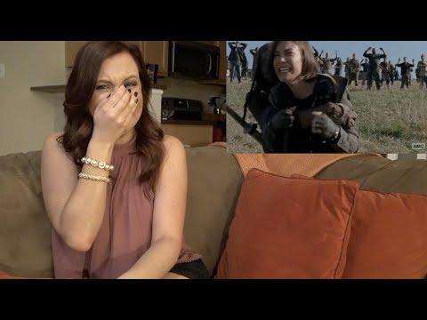 """The Walking Dead 8x16 """"Wrath"""" Reaction"""