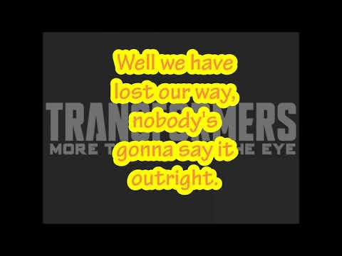 Lost Coastlines / (Okkervil River)/ (Lyrics)/(Transformers: More Than Meets The Eye IDW)