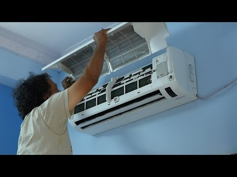 Clean Your Air Conditioner/AC dust Filters cleaning EASY/Samsung AC/Demo-S.Nagender