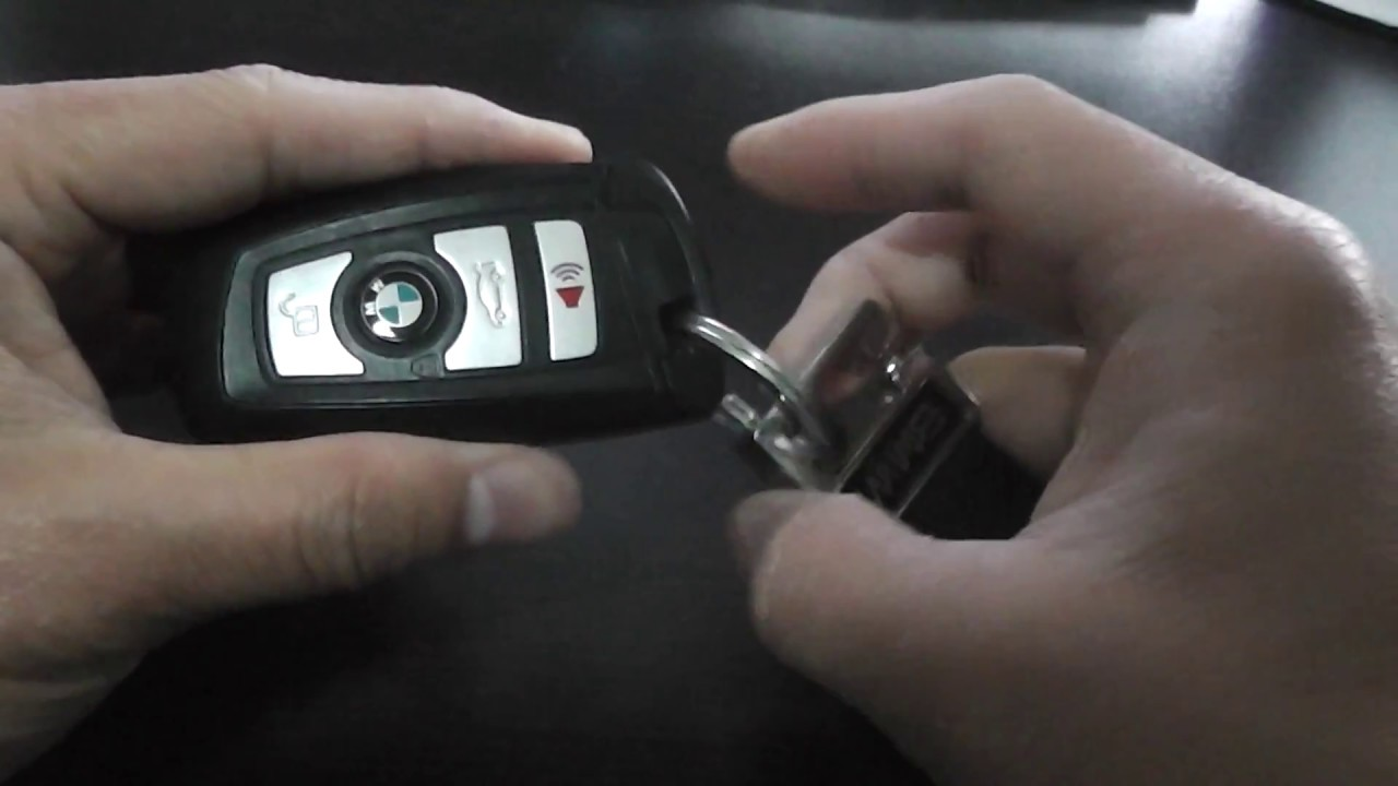 Bmw Key Fob Battery Replacement 5 Series Diy Youtube