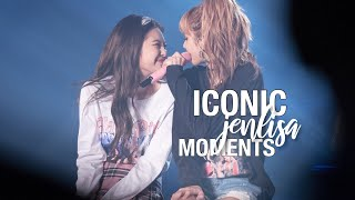 iconic JENLISA moments #1