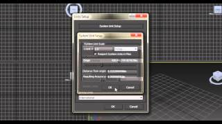5 units setup in 3ds max