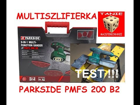 Parkside multi functional sander pmfs 200 b2 3 in 1 lev for Levigatrice a penna multifunzione parkside