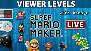 Early Sunday Stream - Viewer Levels & Cronocyde troll level for me - Super Mario Maker