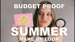 BUDGET PROOF SUMMER MAKE-UP LOOK