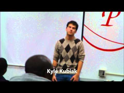 Princeton High School Performance Poetry Fall Semester 2012 pt 1